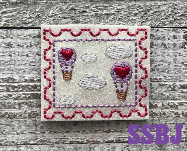 SSBJ Stamp Series February Embroidery File