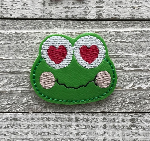 SSBJ Keroppi Love Embroidery File