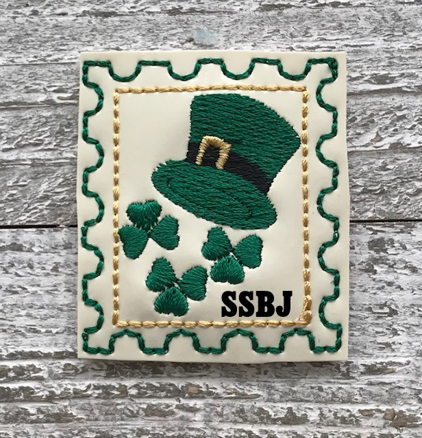 SSBJ Stamp Series March Embroidery File