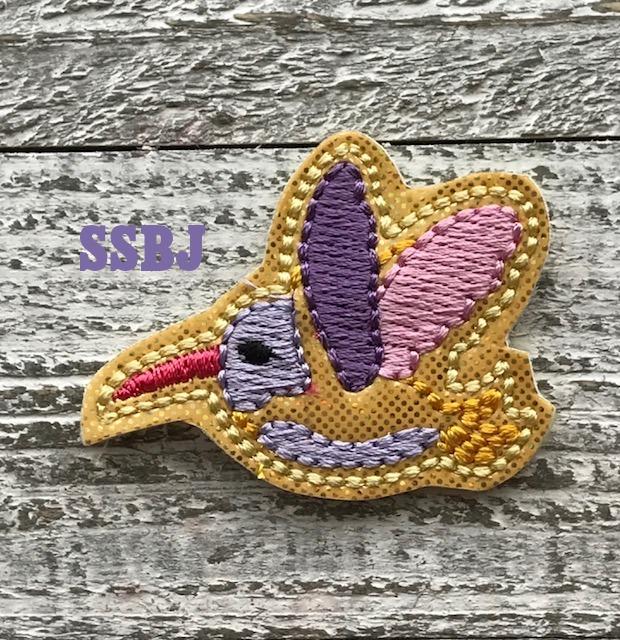 SSBJ Hummingbird Embroidery File