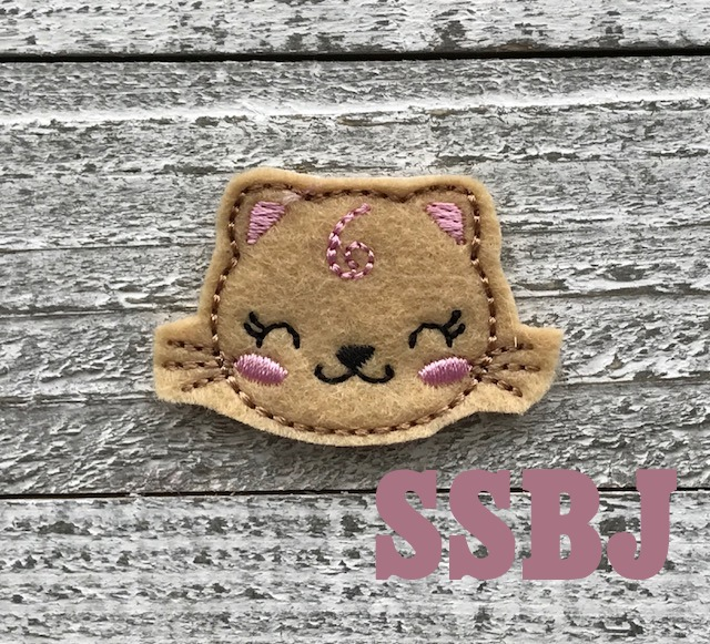 SSBJ Vallie Kitty Embroidery File