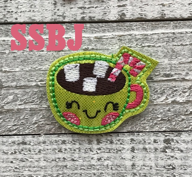 SSBJ Mint Cocoa Embroidery File