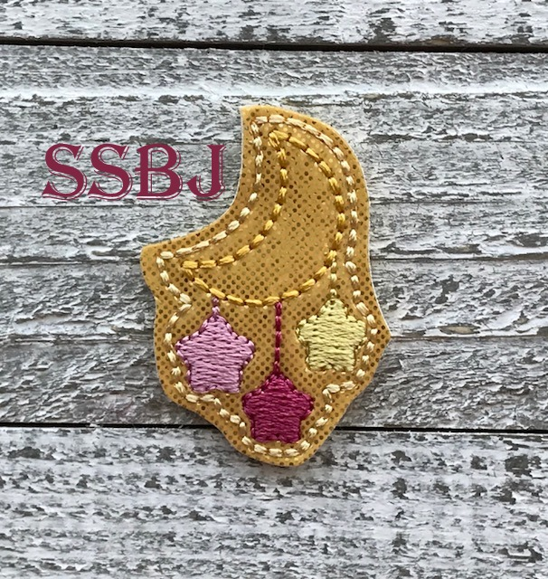SSBJ Star Drop Moon Embroidery File
