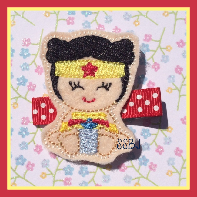 Wonder Babie Embroidery File