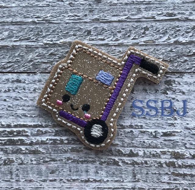 SSBJ Special Delivery Happy Mail Embroidery File