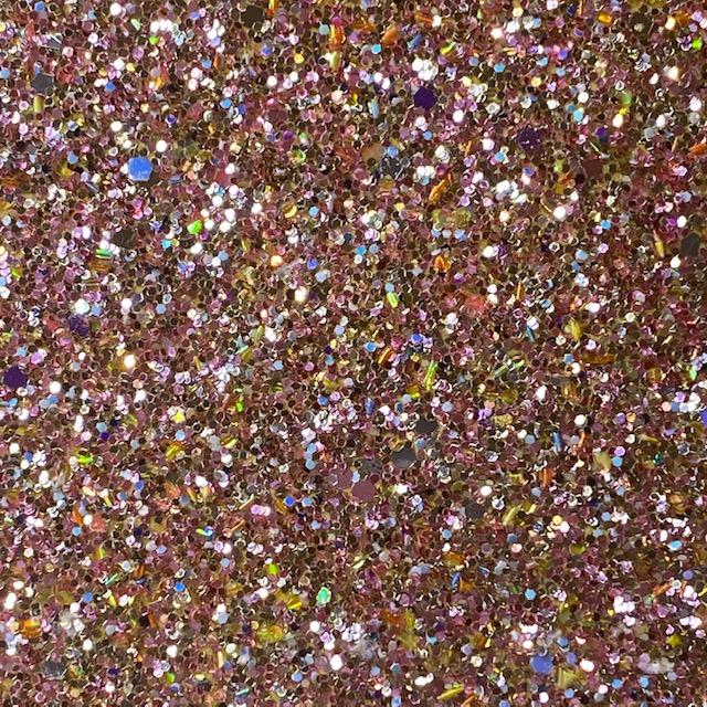 Rose Gold Confetti Chunky glitter Vinyl