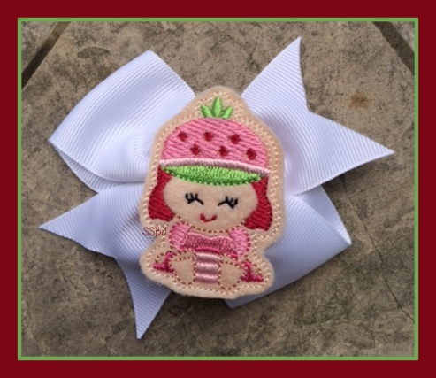 Shortcake Babie Embroidery File