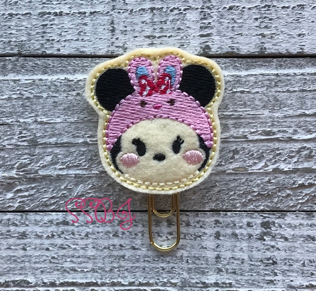 SSBJ Tum Mrs Mouse Bunny Embroidery File