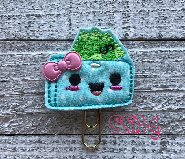 SSBJ Wallet Embroidery File