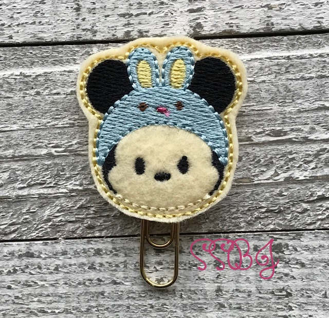 SSBJ Tum Mr Mouse Bunny Embroidery File