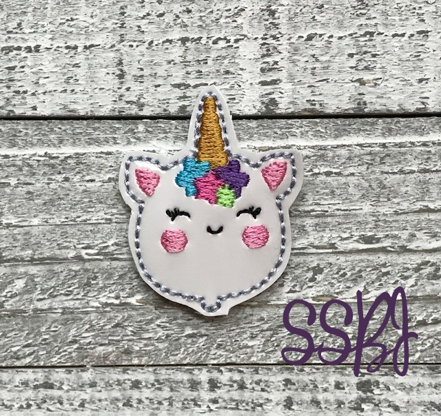 SSBJ Unicorn Balloon Embroidery File