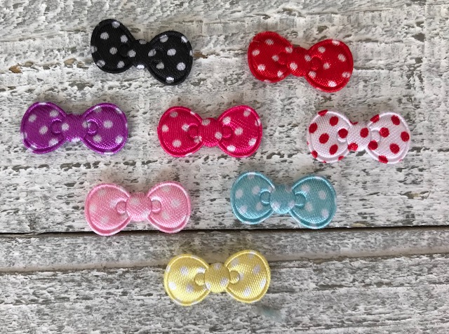 Hello Kitty Inspired Padded Bow-Satin Polka Dot