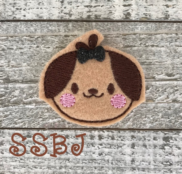 SSBJ Animal Friends Dog Embroidery File