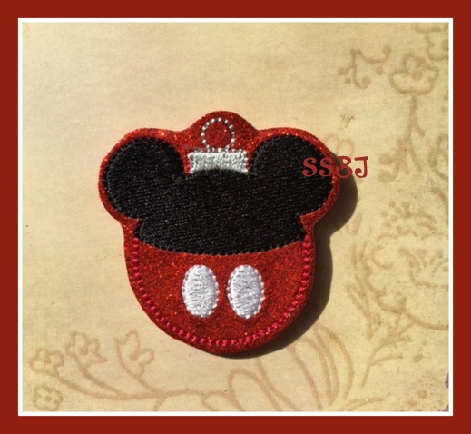 SSBJ Mickie Ornament Embroidery File
