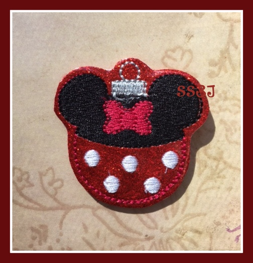 Minny Ornament Embroidery File