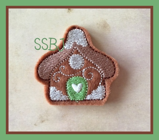 SSBJ Gingerhouse 2 Embroidery File