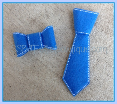 Boys Neck Tie Embroidery File