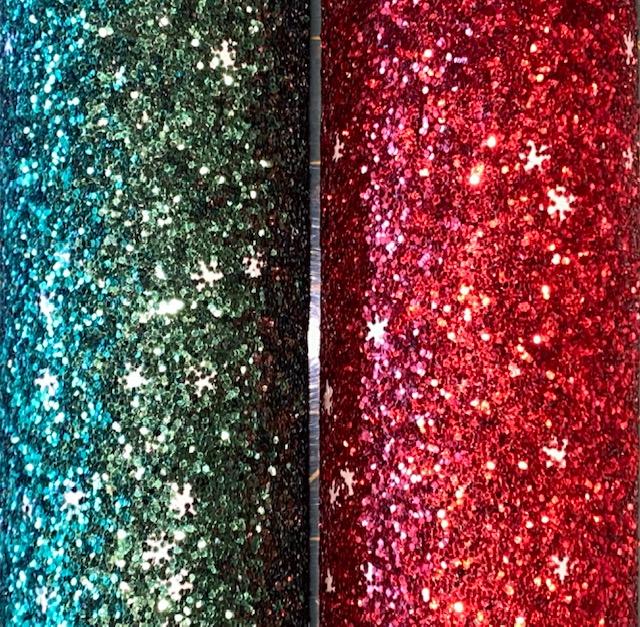 12x54 Christmas Eve Chunky Glitter Vinyl