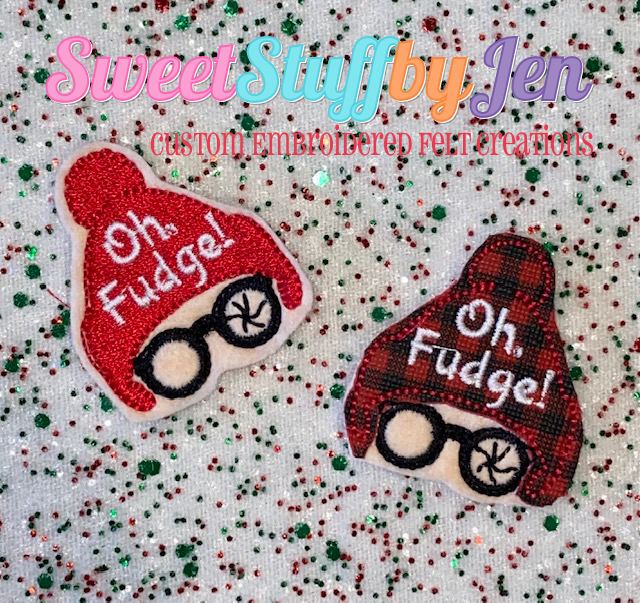 SSBJ OH Fudge HAT Embroidery File