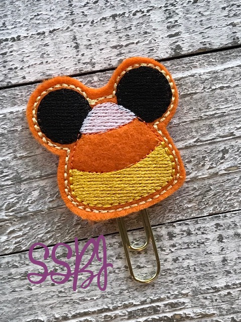 SSBJ Mr Mouse Candy Corn Embroidery File