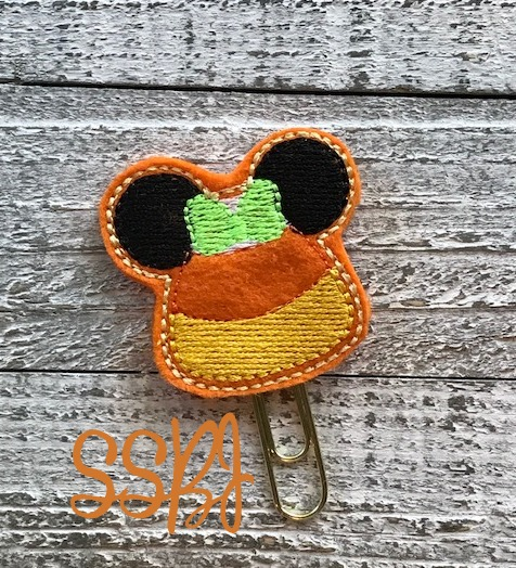 SSBJ Mrs Mouse Candy Corn Little Bear Embroidery File