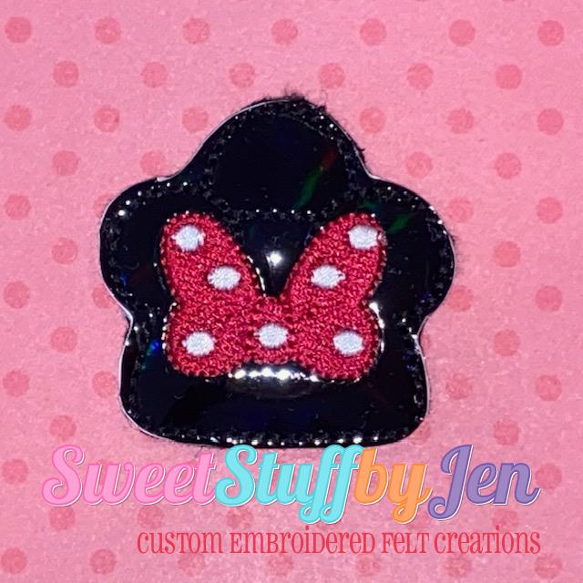 SSBJ Mrs Mouse Purse Handbag Embroidery File