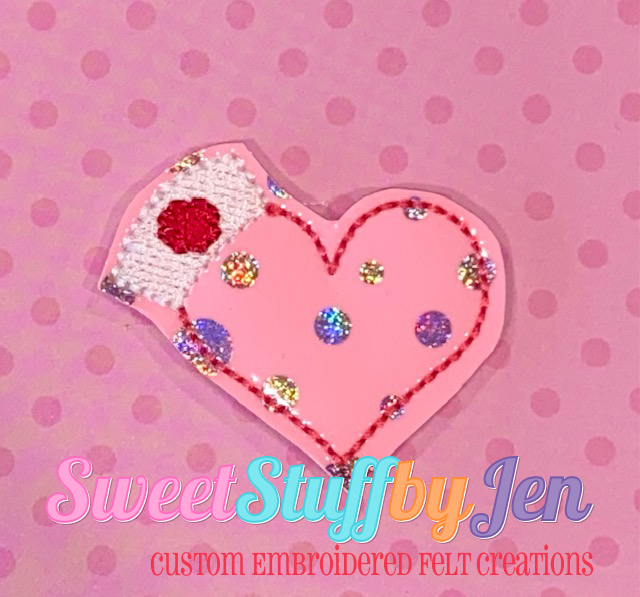 SSBJ Heart Nurse Hat Embroidery File