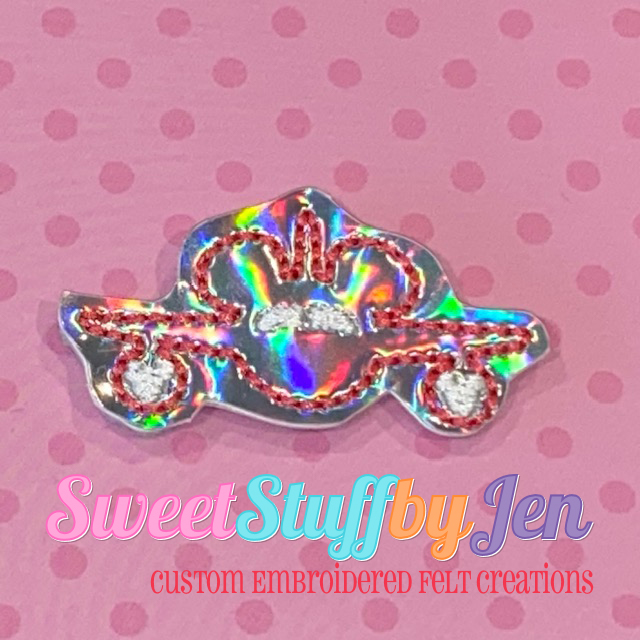 SSBJ Mouse Airplane Embroidery File