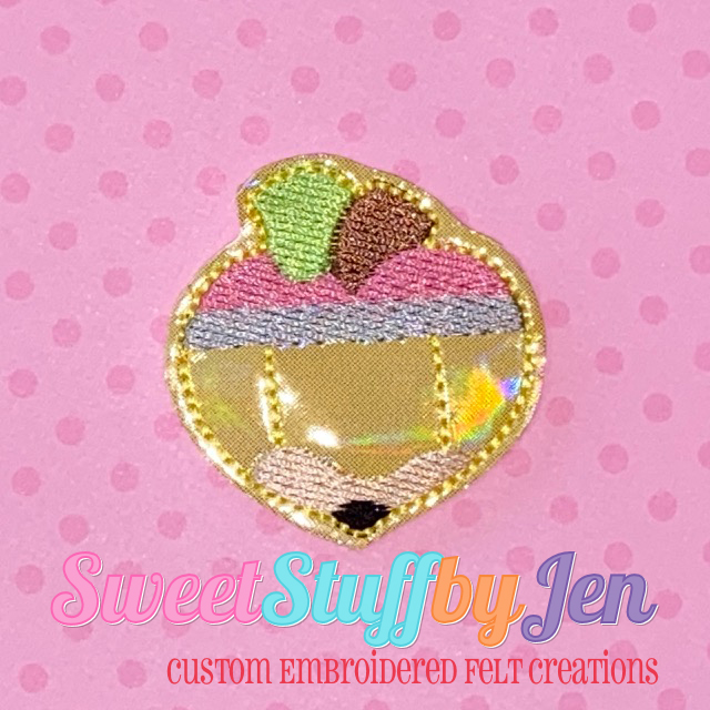 SSBJ Heart Pencil Apple Embroidery File