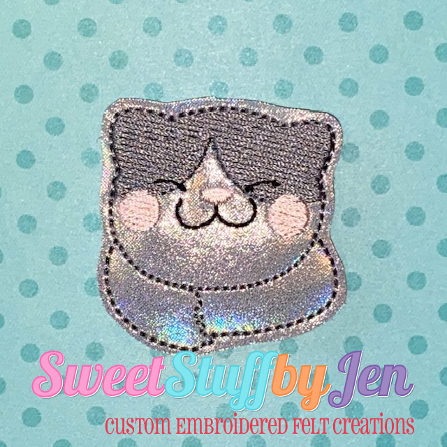 SSBJ Happy Cat Embroidery File