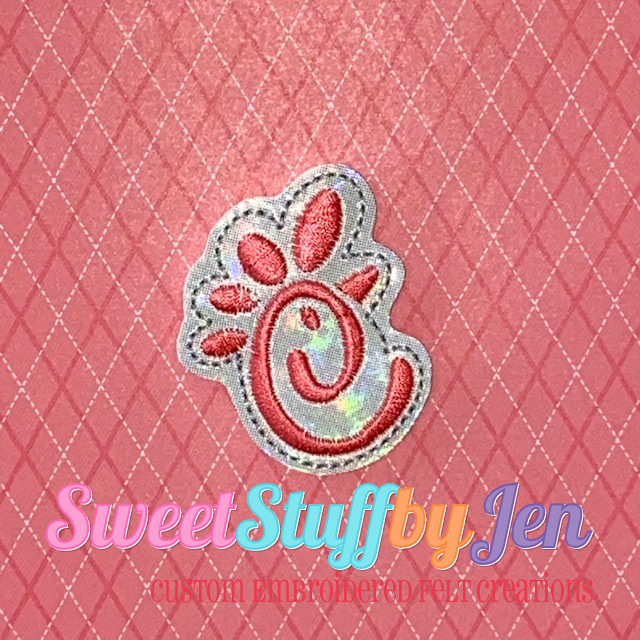 SSBJ Chick Logo C Embroidery File