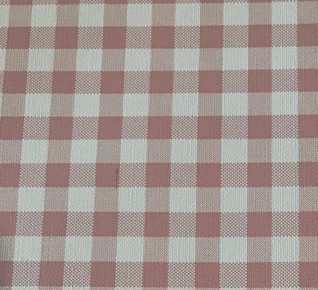 Buffalo Plaid LARGE  Light Pink Embroidery Vinyl