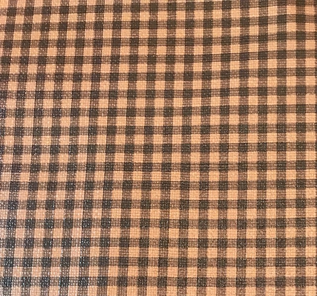 Buffalo Plaid SMALL Brown & Brown Embroidery Vinyl