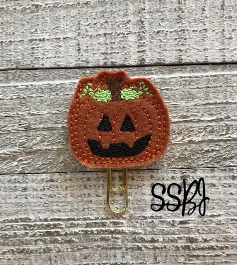 SSBJ Prim Pumpkin Embroidery File