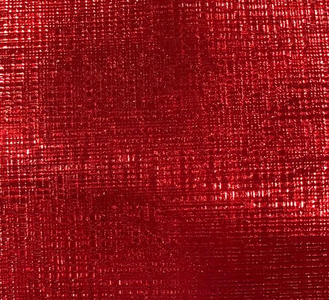 Checkered Embossed Marine Vinyl RED