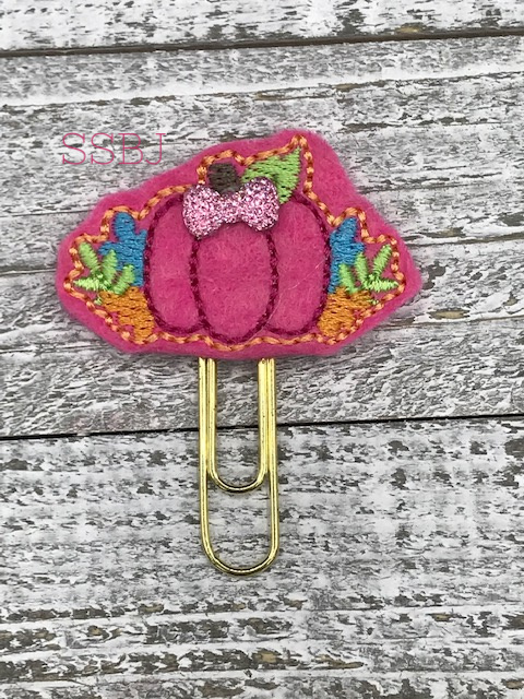SSBJ Floral Harvest Pumpkin Embroidery File