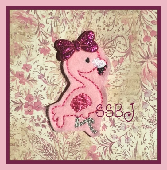SSBJ Flamingo Embroidery File