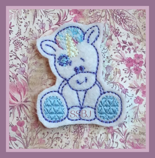 SSBJ Unicorn 2 Embroidery File