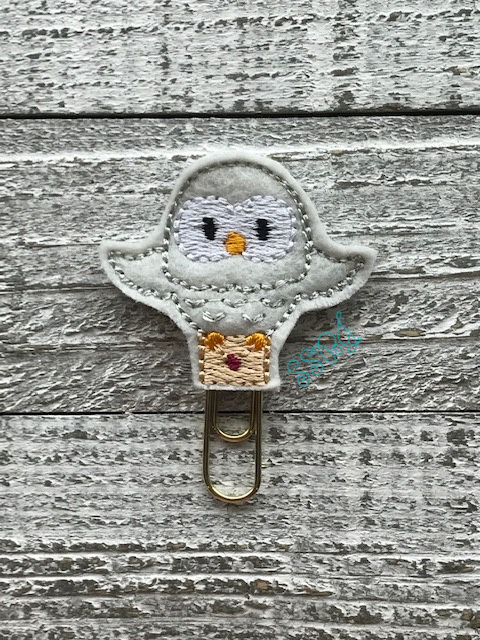 SSBJ HP Owl Embroidery File