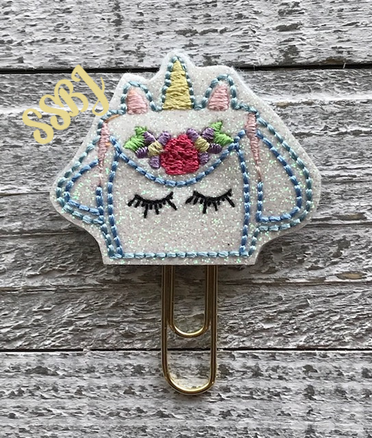 SSBJ Unicorn Backpack Embroidery File
