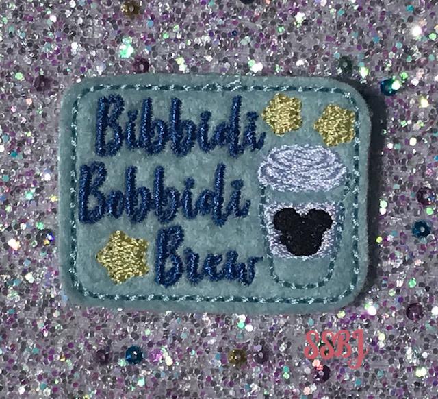 SSBJ Bibbidi Bobbidi Brew Embroidery File