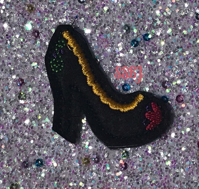 SSBJ Anna Shoe Embroidery File
