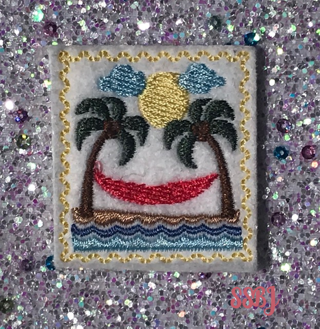 SSBJ Stamp Series June Embroidery File