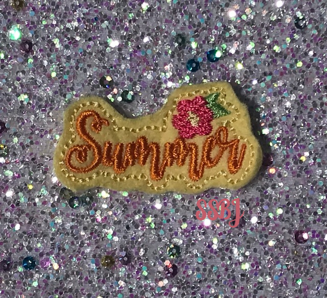 SSBJ Summer Floral Embroidery File