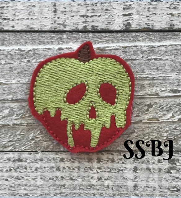 SSBJ Poison Apple Embroidery File