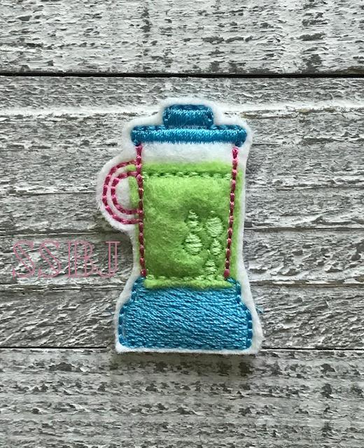 SSBJ Blender Embroidery File