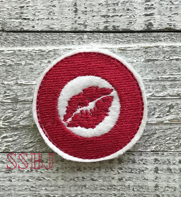 SSBJ Target Lips Embroidery File