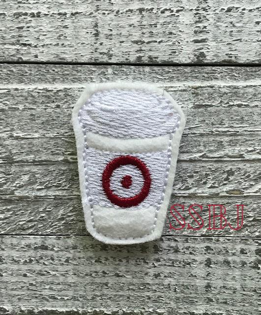 SSBJ Target Latte Embroidery File