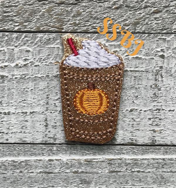 SSBJ Iced Latte Pumpkin Embroidery File