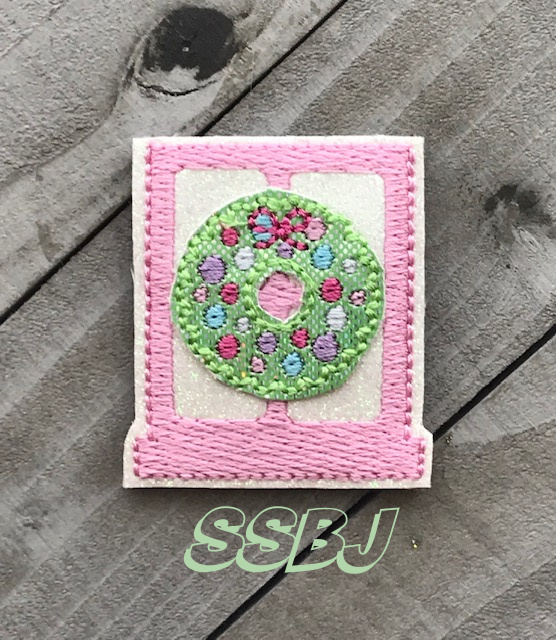 SSBJ Window Wreath Embroidery File